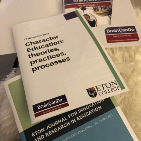BrainCanDo's Joint Character Education Conference with Eton College hears from educationalists, researchers and pupils